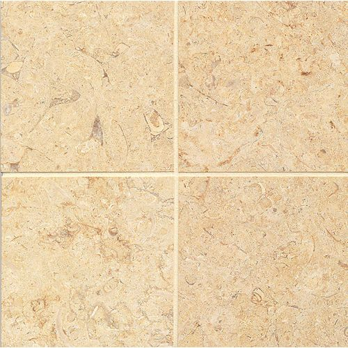 "Royal Oyster Satin 6"" x 6"" Floor & Wall Tile"