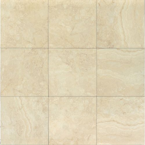 "Shady Canyon 18"" x 18"" x 1/4"" Floor and Wall Tile in Almond"
