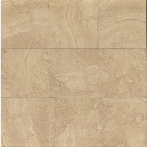 "Shady Canyon 13"" x 13"" x 1/4"" Floor and Wall Tile in Beige"