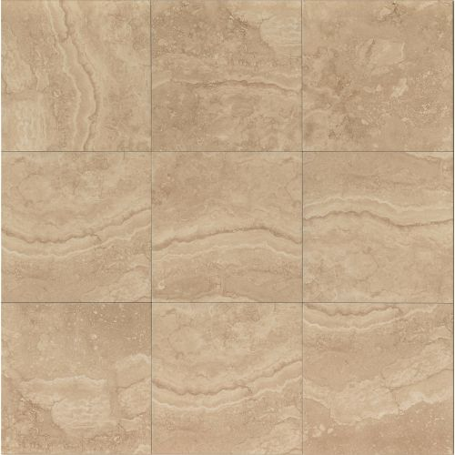 "Shady Canyon 13"" x 13"" Floor & Wall Tile in Camel"