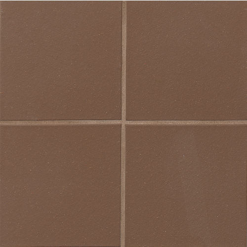 "Metropolitan 8"" x 8"" Floor & Wall Tile in Chestnut Brown"