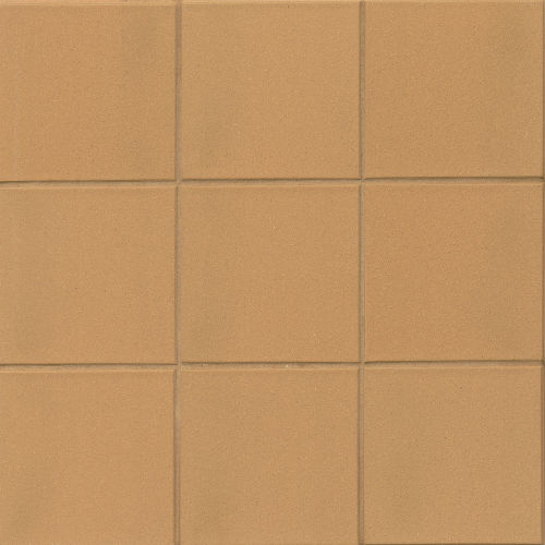 "Metropolitan 6"" x 6"" x 1/2"" Floor and Wall Tile in Adobe"