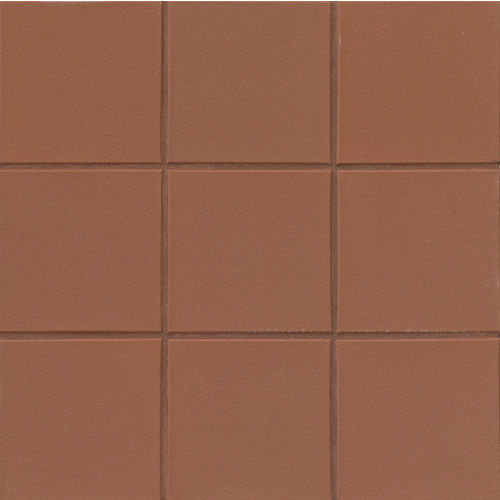 "Metropolitan 6"" x 6"" x 1/2"" Floor and Wall Tile in Mayflower Red"