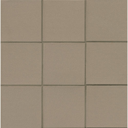 "Metropolitan 6"" x 6"" x 1/2"" Floor and Wall Tile in Puritan Gray"