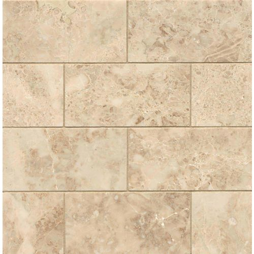 "Cappuccino 3"" x 6"" Floor & Wall Tile"