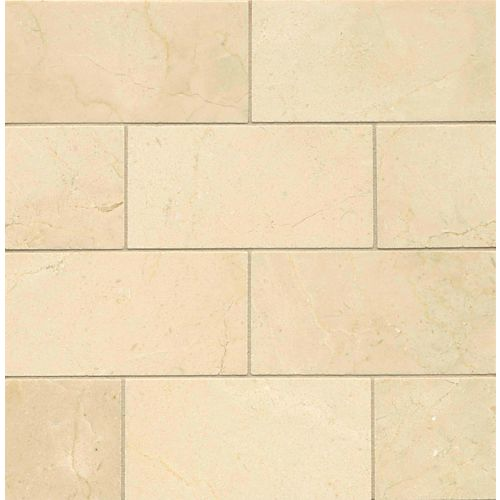 "Crema Marfil Select 3"" x 6"" Wall Tile"