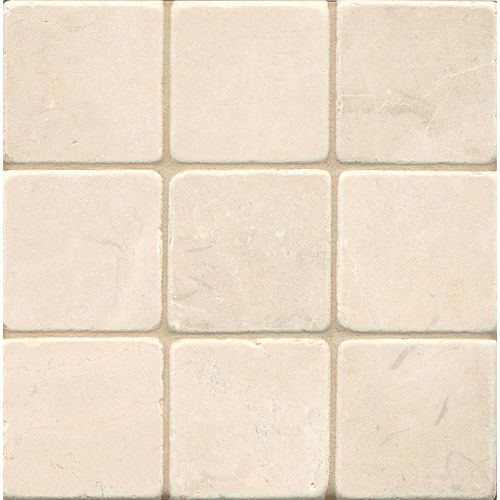 "Crema Marfil Select 4"" x 4"" Floor & Wall Tile"