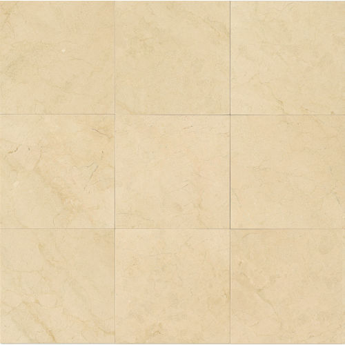 "Crema Marfil Select 12"" x 12"" Floor & Wall Tile"