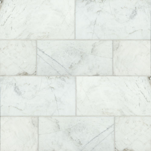 "Glorious White 12"" x 24"" Floor & Wall Tile"