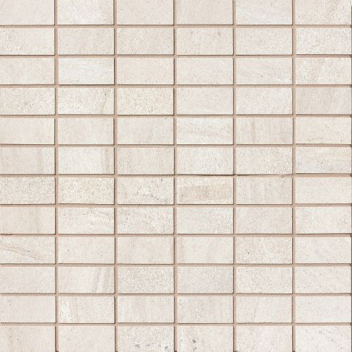 "Purestone 1"" x 2"" Floor & Wall Mosaic in Beige"