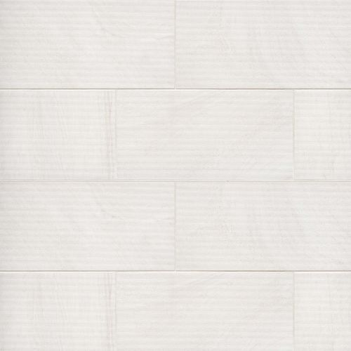 "Purestone 12"" x 24"" Floor & Wall Tile in Bianco"