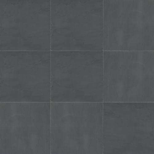 "Andhra Black 16"" x 16"" Floor & Wall Tile"