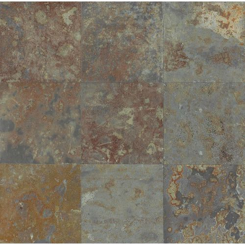 "Brazilian Multicolor 8"" x 8"" Floor & Wall Tile"