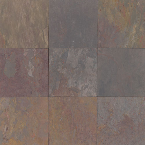 "Rajah Multicolor 12"" x 12"" Floor & Wall Tile"