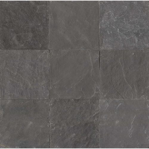"Obsidian Black 16"" x 16"" Floor & Wall Tile"