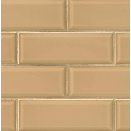 "Adamas 4"" x 12"" x 3/8"" Wall Tile in Semper"