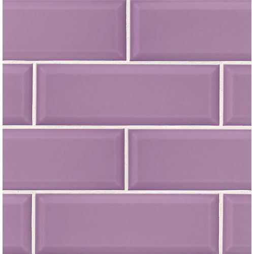 "Adamas 4"" x 12"" Wall Tile in Viola"