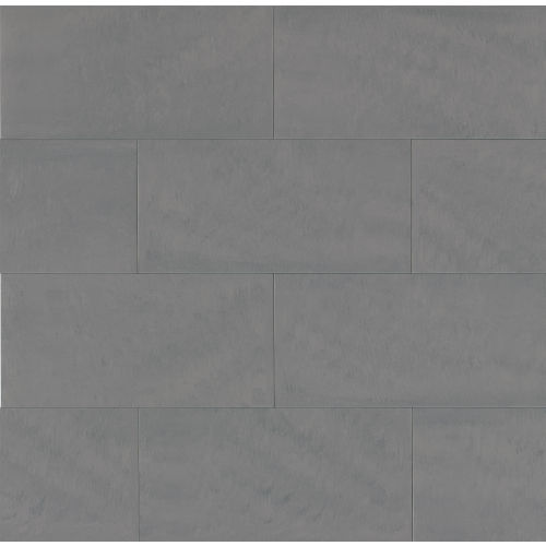 "Area 3D 12"" x 24"" x 3/8"" Floor and Wall Tile in Grey"