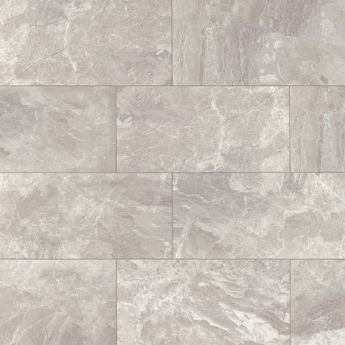 "Classic 12"" x 24"" Floor & Wall Tile in Bardiglietto"