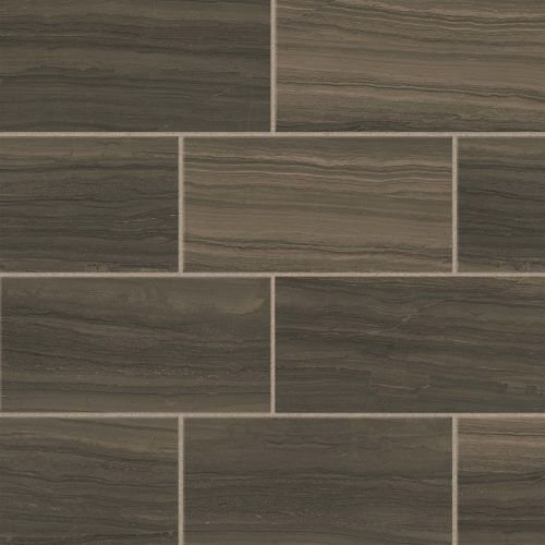 "Highland 12"" x 24"" Floor and Wall Tile in Cocoa"