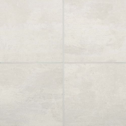 "Simply Modern 12"" x 12"" Floor & Wall Tile in Creme"