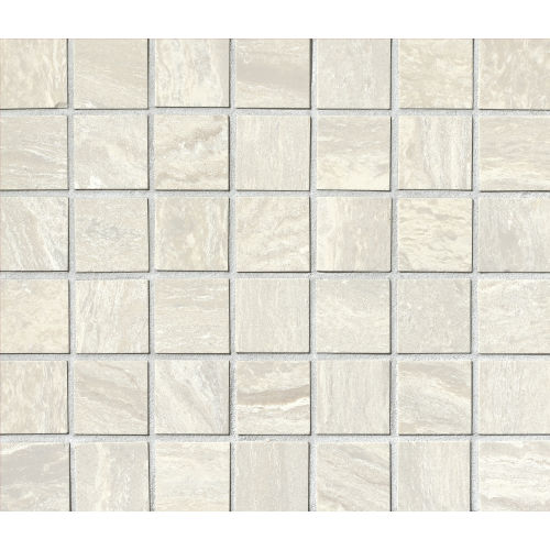 "Amazon 1-1/2"" x 1-1/2"" Floor & Wall Mosaic in Silver"