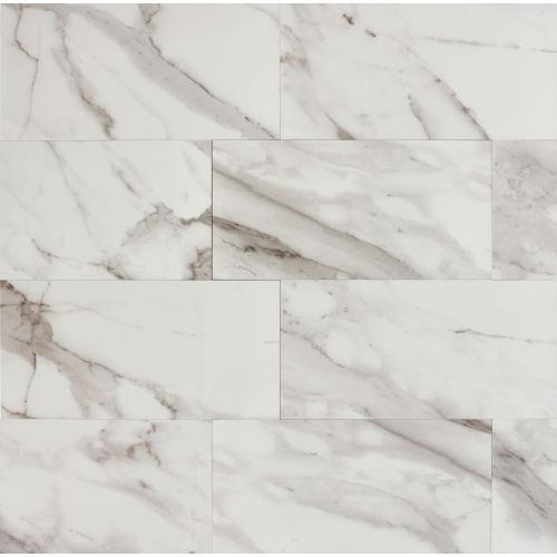 "Calacatta 12"" x 24"" Floor & Wall Tile"