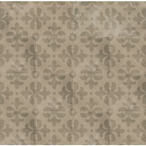 "Cemento 12"" x 24"" Decorative Tile in Baler"