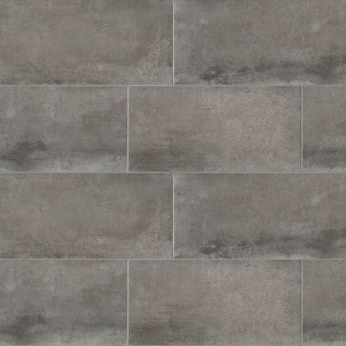 "Clive 24"" x 48"" Floor & Wall Tile in Nero"