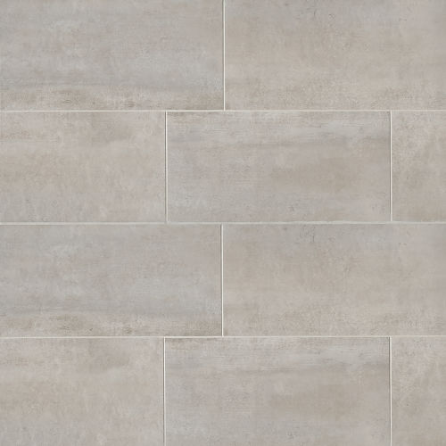 "Clive 24"" x 48"" Floor & Wall Tile in Silver"