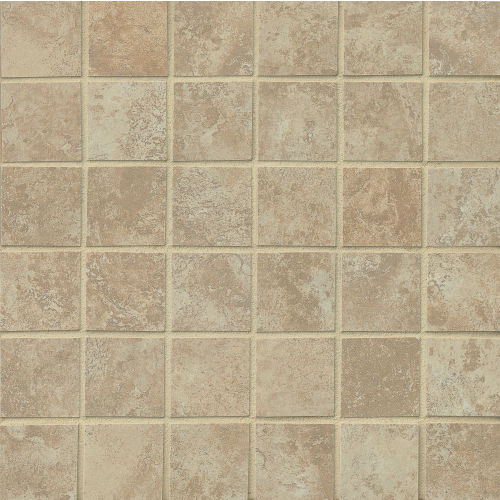 "Fantasia 2"" x 2"" Floor & Wall Mosaic in Almond"