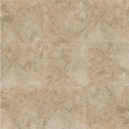 "Fantasia 20"" x 20"" Floor & Wall Tile in Beige"