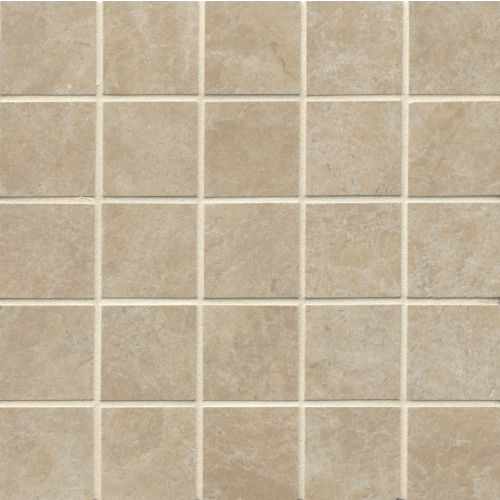"Indiana Stone 2"" x 2"" Floor & Wall Mosaic in Beige"
