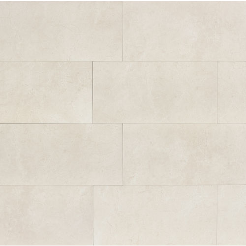 "Marfil 12"" x 24"" Floor & Wall Tile in Alabaster"