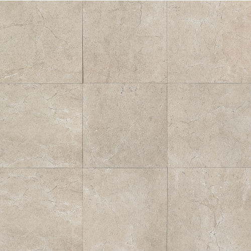 "Marfil 20"" x 20"" Floor & Wall Tile in Silver"
