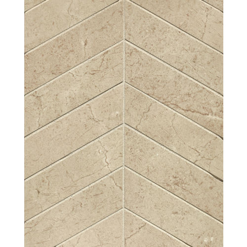 "Marfil 2"" x 2"" Floor & Wall Mosaic in Crema"