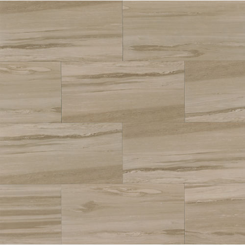 "Rose Wood 12"" x 24"" Floor & Wall Tile in Beige"