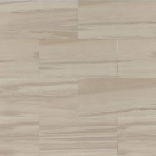 "Rose Wood 12"" x 24"" Floor & Wall Tile in Silver"