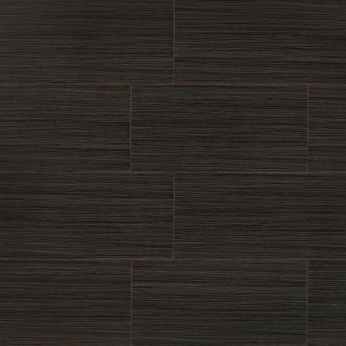 "Runway 12"" x 24"" x 3/8"" Floor and Wall Tile in Ebony"