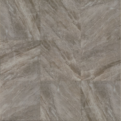 "Stone Mountain 20"" x 20"" x 3/8"" Floor and Wall Tile in Gris"