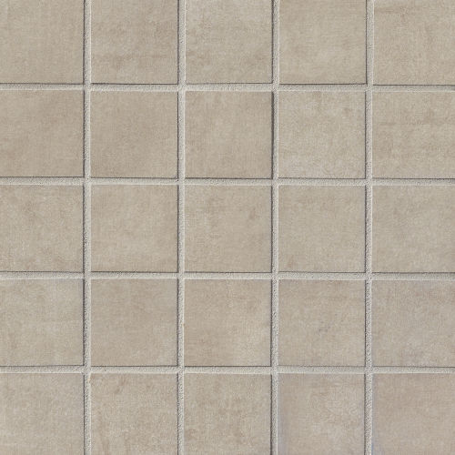 "Studio 2"" x 2"" Floor & Wall Mosaic in Brown Sugar"