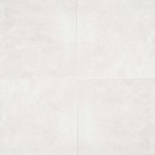 "Troy 24"" x 24"" Floor & Wall Tile in White"