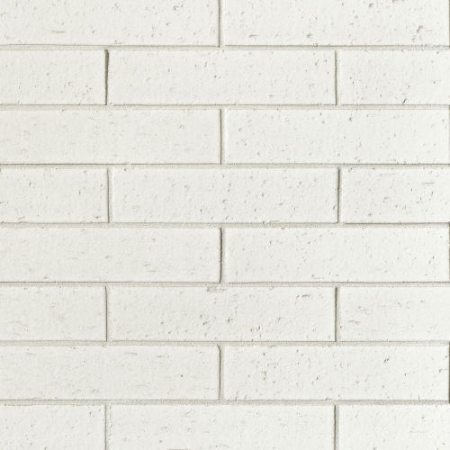 "Uptown 2.5"" x 9.5"" x 3/8"" Floor and Wall Tile in White"