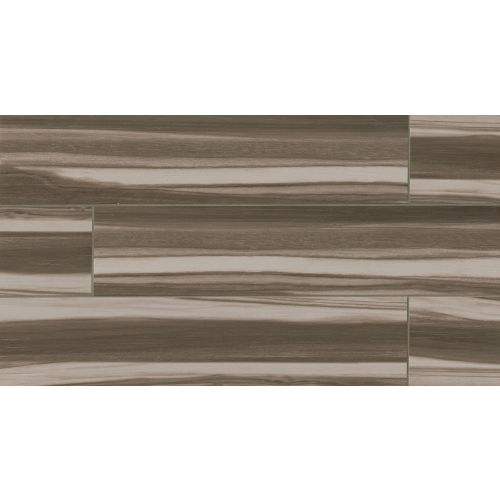 "Arrowhead 8"" x 36"" Floor & Wall Tile in Nero"