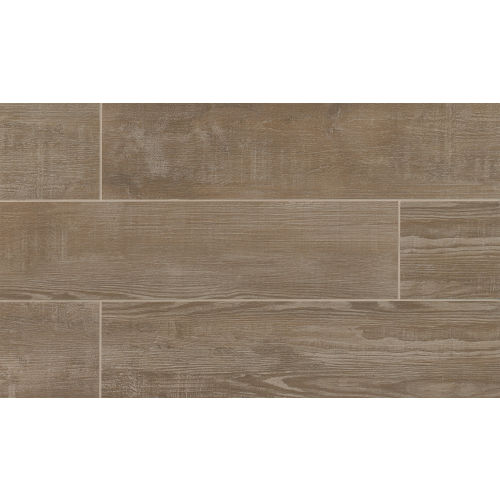 "Bayou Country 8"" x 36"" Floor & Wall Tile in Taupe"