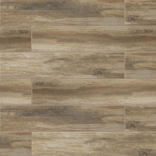 "Distressed 8"" x 24"" Floor & Wall Tile in Ciliegia"