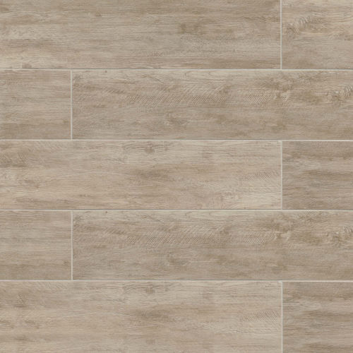 "River Wood 8"" x 48"" Floor & Wall Tile in Oak"