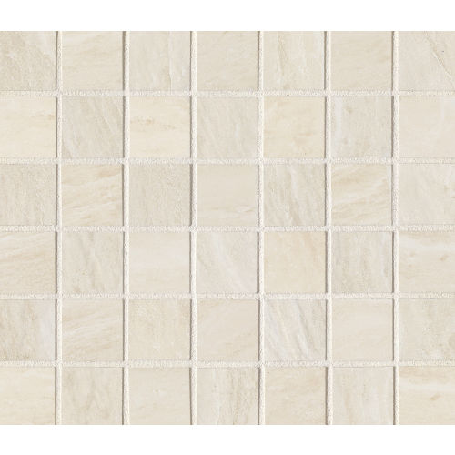 "Yosemite 1-1/2"" x 1-1/2"" Floor and Wall Mosaic in Almond"