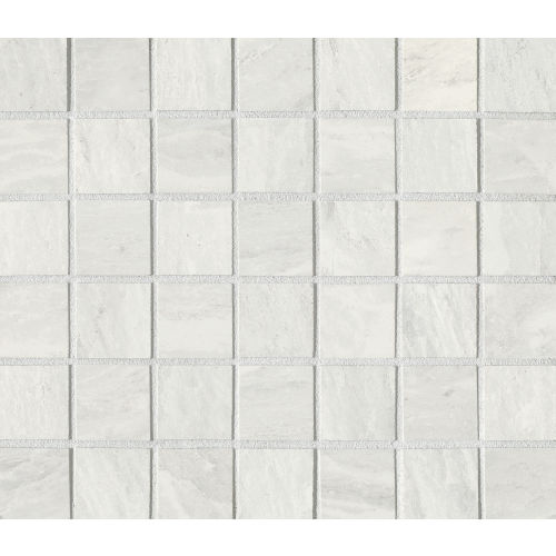 "Yosemite 1-1/2"" x 1-1/2"" Floor & Wall Mosaic in Silver"