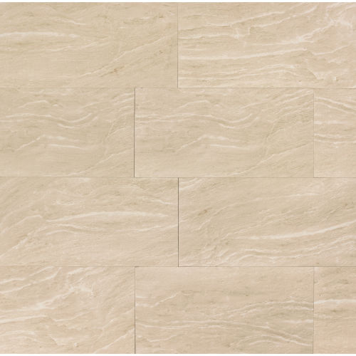"Yosemite 12"" x 24"" Floor & Wall Tile in Beige"